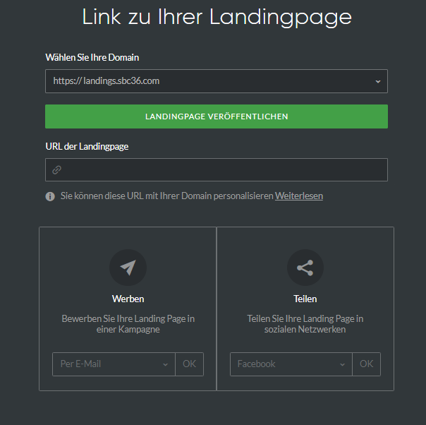 link-landing-pages