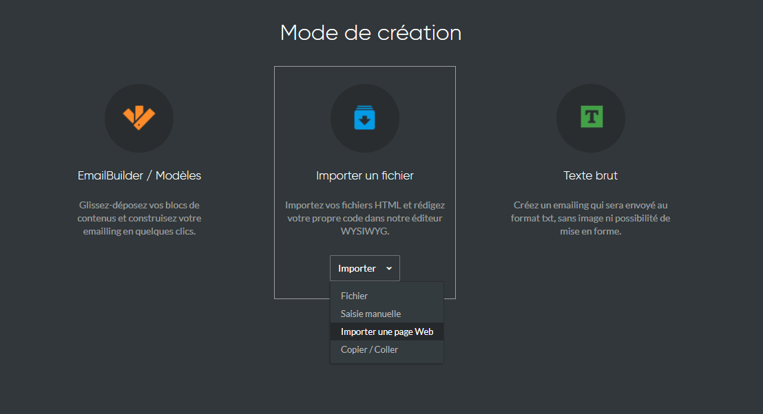 importer-page-web